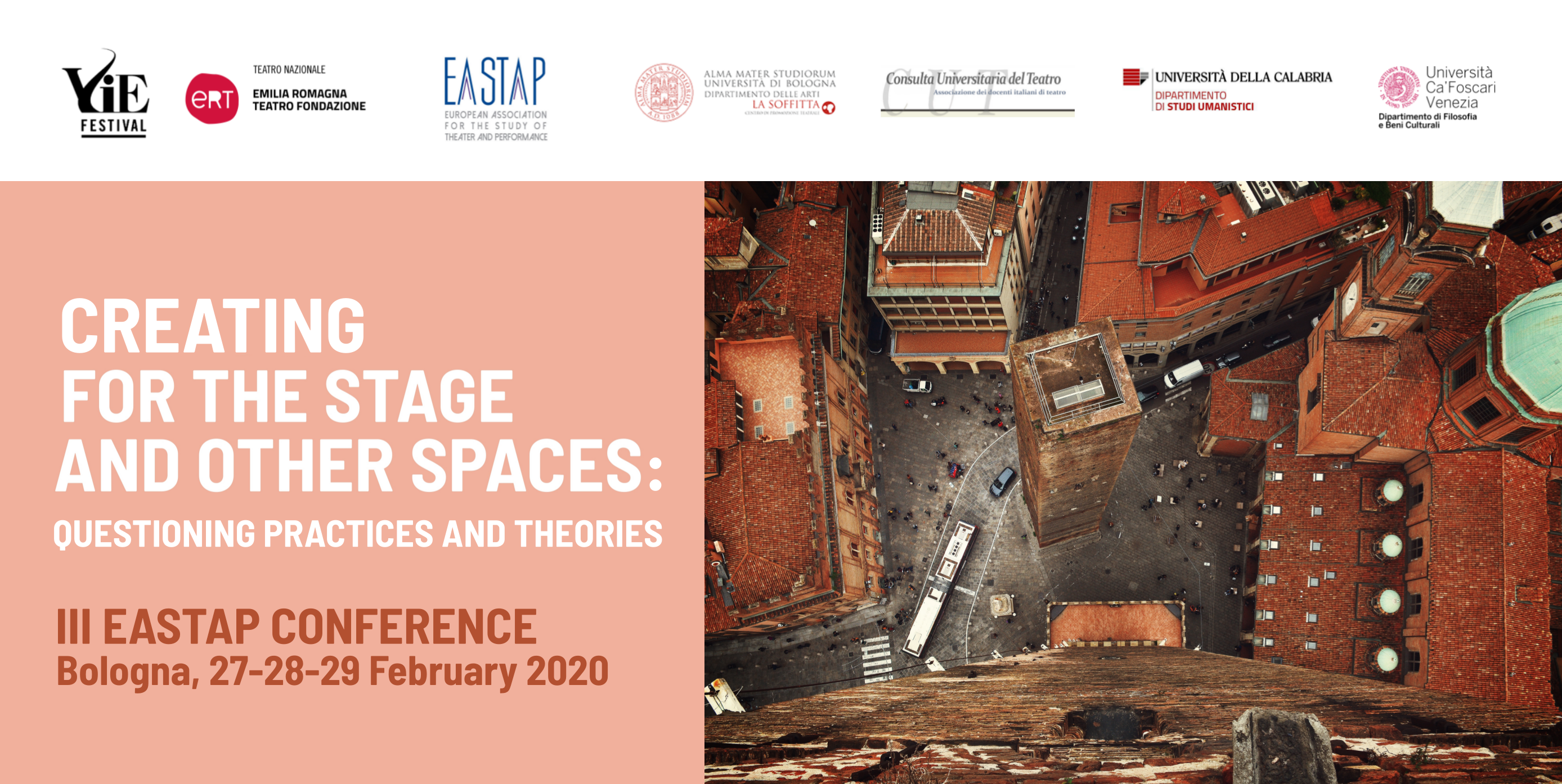 EASTAP III CONFERENCE IN BOLOGNA – FEBRUARY 27- MARCH 1, 2020